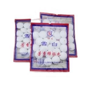 袋装白色衣柜卫生球除味防虫丸樟脑球地摊网